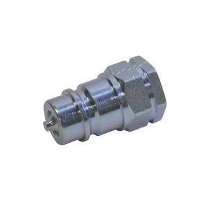Snelkoppelingen male inwendige draad SKP-M | NBR / PTFE | Wit gepassiveerd | 250 bar