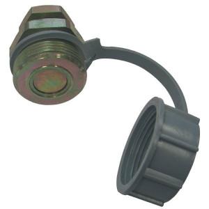 Schroefkoppeling male SKSMDC | Nitrilrubber (NBR) | 97.23.EC | Geel gepassiveerd