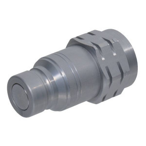 Snelkoppeling vlakdichtend male inwendige draad SKV-M | NBR / PTFE | ISO 16028 | Zink / Nikkel