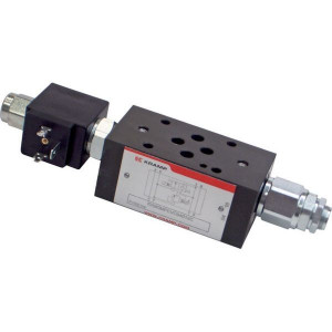 Cetop 03 drukregelventiel met bypassklep KRM3MPEVO | Voorgestuurd | Drukbeveiligd