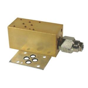 Cetop 03 balanceerventiel CB10 (B) | Nitrilrubber (NBR) | Aluminium