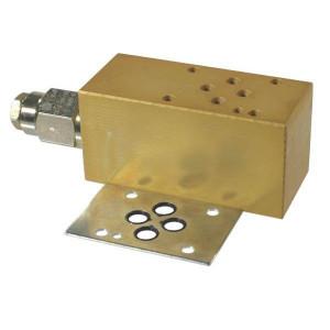 Cetop 03 balanceerventiel CB10 (A) | Nitrilrubber (NBR) | Aluminium