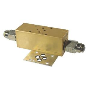 Cetop 03 dubbelwerkend balanceerventiel CB-10 | Nitrilrubber (NBR) | Aluminium