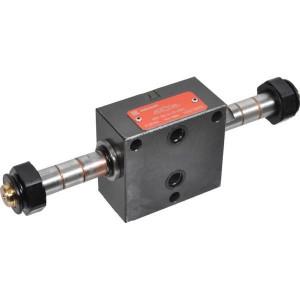 Stackable (NG 3) stuurventielen eindplaat elektr. KRAMP KREV
