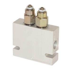 Balanceerventielen dubbel CP-441-2 | Extern | V1 naar C1 en V2 naar C2 | 220bar bar | Buna-M