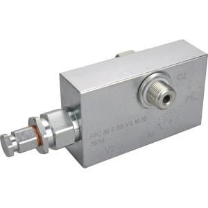 Balanceerventiel FPO 350 bar | 6-kantig