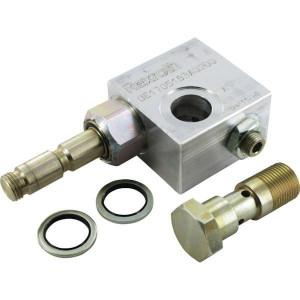 Inline ventielen 2/2 - N.C. 210 bar | Aluminium | Nitrilrubber (NBR) | 3 bar | 100 %