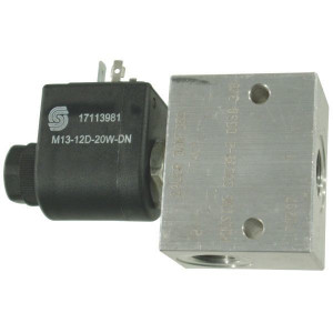 Inline ventielen 2/2 - NC/NO 1-richting SVP 08 230 bar | Aluminium | Nitrilrubber (NBR) | 3 bar | 100 %
