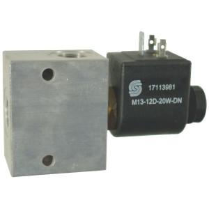Inline ventielen 2/2 - NC/NO 1-richting SVP 08-R 230 bar | Aluminium | Nitrilrubber (NBR) | 3 bar | 100 %
