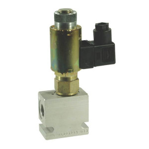 Inline ventielen 2/2 - N.C. 2-richtingen EW10 210 bar | Exclusief stekker SP 666