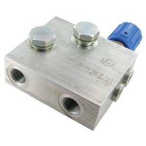"Drie wegstroomregelklep FPRF (Orbit) | 1/2"" BSP-binnendraad | Aluminium"