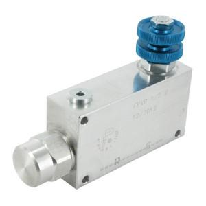 3-Weg Stroomregelventiel type FPVP 250 Bar | BSP-binnendraad | Aluminium
