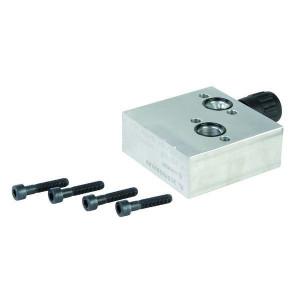 3-Weg stroomregelventiel VPR EP Aanbouw OMP/OMR/OMS | 1/2'' BSP | Grofafstelling | Aluminium