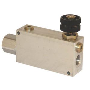 "3-Weg stroomregelventiel type VPR EP | 3/8"" 1.1/4"" BS | Grofafstelling | Aluminium"