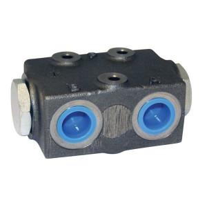 Stroomverdeelventiel FDC 60 | 310 bar | 2,05 kg | Gietijzer