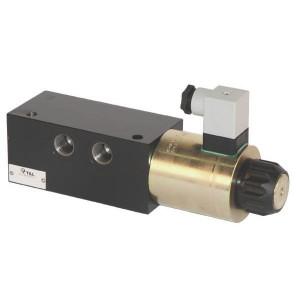 Inline 6/2 stuurventiel SV | Onder druk schakelbaar | M18 x 1,5 | Exclusief stekker SP 666 | 250 bar