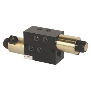 Inline 8/3 stuurschuif SV | Onder druk schakelbaar. | M18 x 1,5 | Exclusief stekker SP 666 | 250 bar