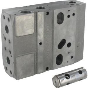 Basis modulen PVB met mogelijkheid shock ventielen PVG120 | Voorzien van drukcompensator in P