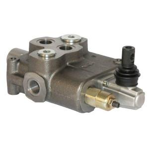 SD18 - 1 sectie | 250 bar | 4 cm³/min | Nitrilrubber (NBR) | -20 +80