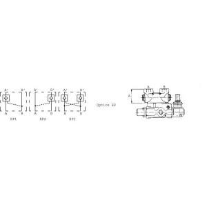 Gest. terugslagkleppen t.b.v. SD-ventiel SD9.VB..
