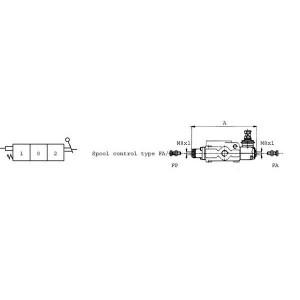 Slagbegrenzing t.b.v.SD-ventiel SD9.BFA/AFP