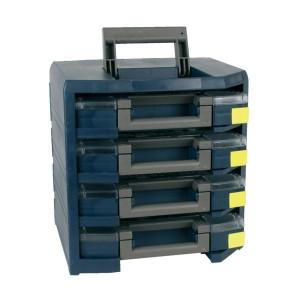 HandyBoxxser met 4x assortimentsdoos Boxxser   Geschikt voor wandbevestiging