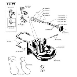 Onderdelen F11 \ Forstal PPH