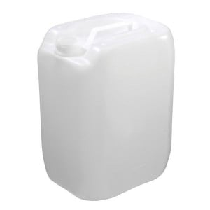 Jerrycan naturel HDPE | Materiaal: HDPE