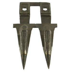 Dubbele vingers en vingerplaatjes passend voor Bucher