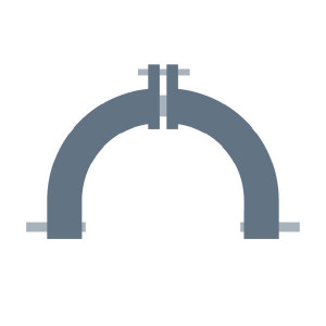 Driepuntsbok passend voor Claas Corto 252 F