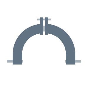 Driepuntsbok passend voor Claas Corto 3200 F / FN Profil