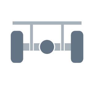 Asophanging passend voor Claas Corto 250