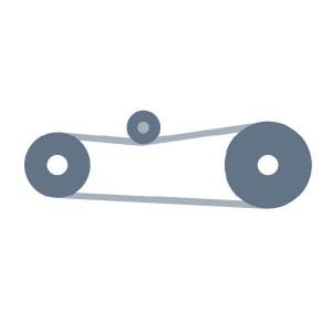 Aandrijving voor maaitrommel passend voor Claas Corto 300
