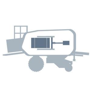 Perscilinder passend voor Claas Quadrant 1150