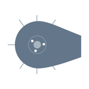 Pick-upvijzel passend voor Claas Quadrant 2100N
