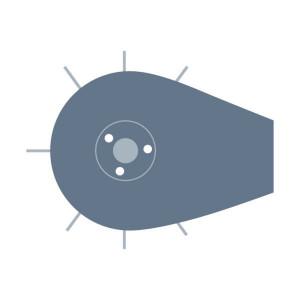 Rol passend voor Claas Rollant 375/355 Uniwrap