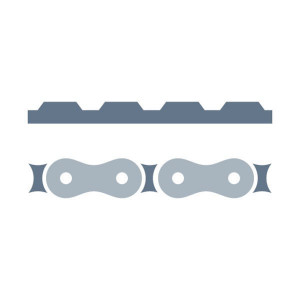 Riemaandrijving passend voor Claas Variant 180/RC Typ 049