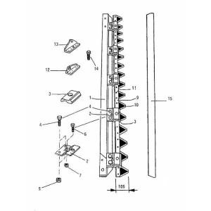 Ziegler (Mörtl Onderdelen v. scheidingsmaaibalk RT 135