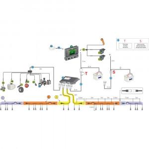Besturing en toebehoren voor Arag Bravo 400 S + Seletron (zonder hydraulische besturing)
