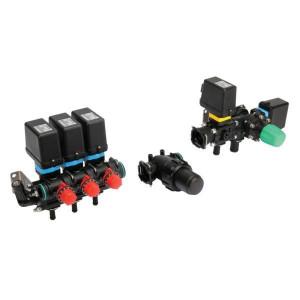 Complete 3 sectie unit voor veldspuiten - 140 l/min, 20 bar | Moduleconstructie | Voor sproeimachines | 3 secties