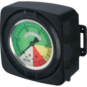 Manometer voor elektrische regelbediening