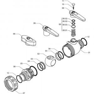 Arag onderdelen 4551440 X . . (2- weg)