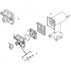 Shurflo pomp onderdelen DIP50501310D011 - 12V 18,9 L