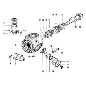Onderdelen passend voor Comet APS 101 / APS 121