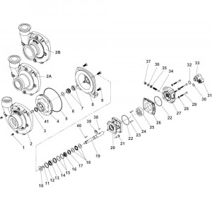 Onderdelen passend voor Hypro centrifugaalpomp Model 9306