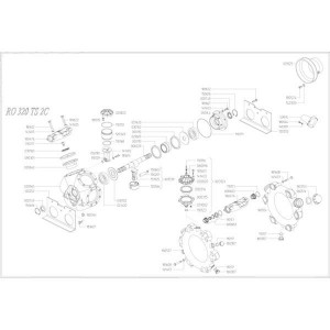 Reserveonderdelen geschikt voor pomp Udor RO 320