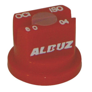 Albuz OCI keramische kantdoppen 80° | 2 4 bar | 8 mm