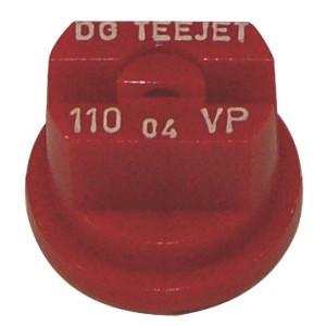 Teejet DG kunststof spleetdoppen 110° | Lage vervangingskosten | 2 5 bar | 8 mm