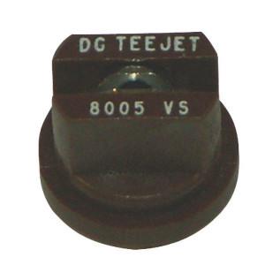 Teejet DG RVS spleetdoppen 80° | Zeer goede slijtvastheid | 2 5 bar | 8 mm