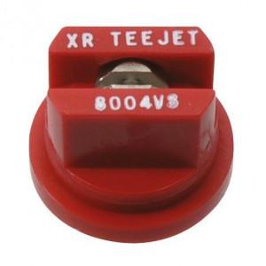 Teejet XR RVS spleetdoppen 80° | Zeer goede slijtvastheid | 1 4 bar | 8 mm